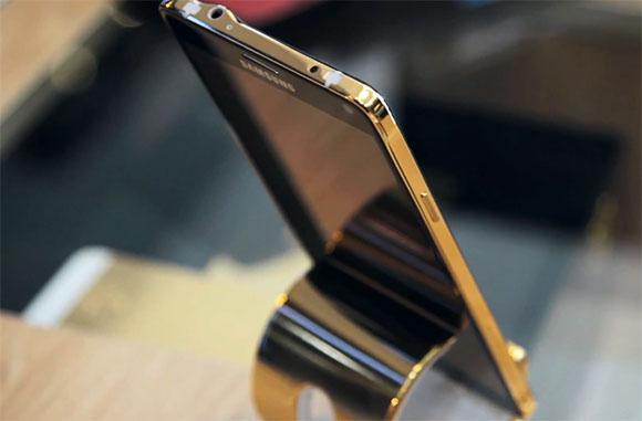 ซัมซุง, Galaxy Note 4 ,ทองคำ 24k
