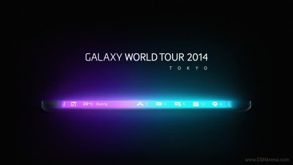 ซัมซุง, Galaxy Note Edge ,ญี่ปุ่นเ