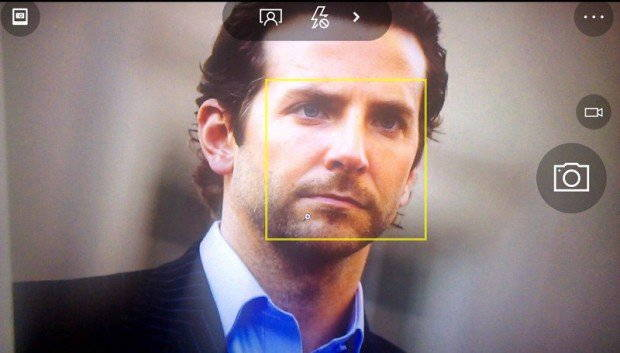 กล้องหน้า ,Windows 10 Mobile ,Face Tracking