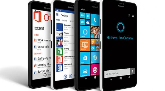 ไมโครซอฟต์,สมาทโฟนใหม่ ,Lumia
