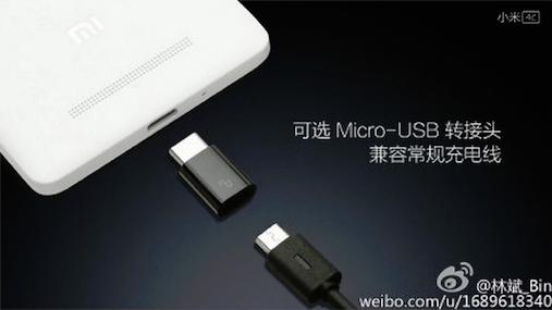 Xiaomi Mi 4c ,Type-C ,MicroUSB
