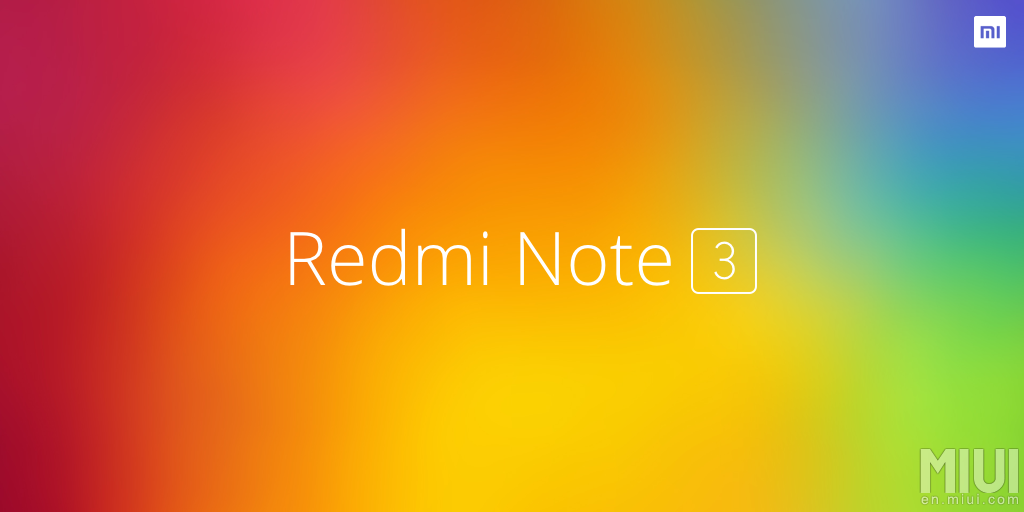 Redmi Note 3 3