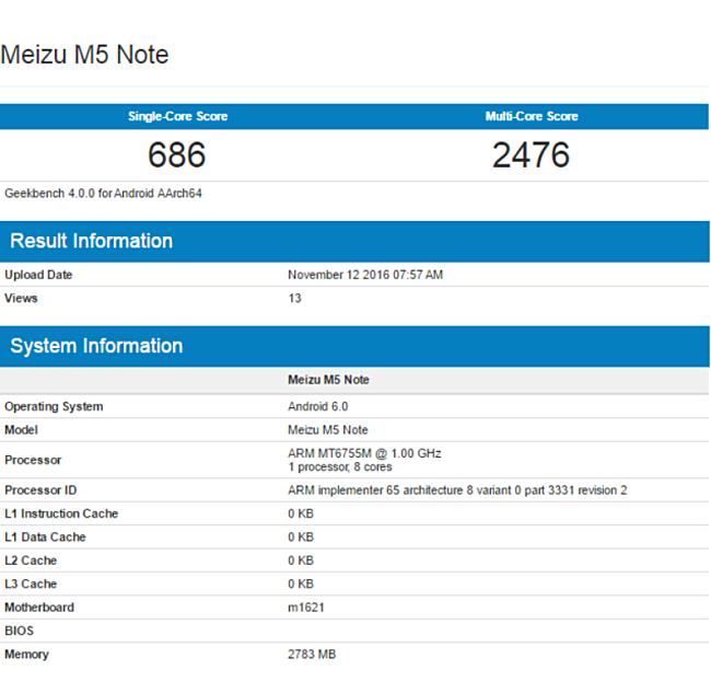Meizu M5 Note1